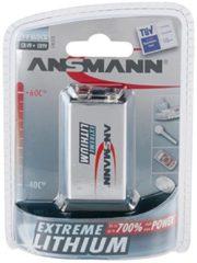Ansmann 5021023 Bli.1 - Batterie 9V Block Lithium Lithium 9V 1200mAh 5021023 Bli.1
