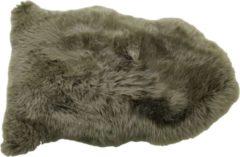 HSM Collection Schapenvacht groot langharig - ±90x60 cm - mosgroen