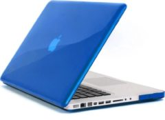 Qatrixx Hard Case Cover Laptop Hoes Blauw Blue voor Macbook Pro 15 inch 2016