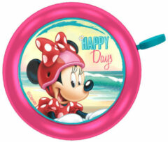 Roze Disney Minnie Mouse Fietsbel