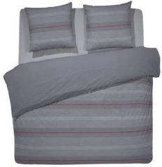 Grijze Damai Tomasso - Dekbedovertrek - 200 x 200/220 cm - Tweepersoons - Grey