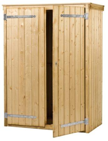 Afbeelding van Woodvision - Tuinkast Zonnebloem - Vuren - 137x190x70 cm
