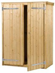 Woodvision - Tuinkast Zonnebloem - Vuren - 137x190x70 cm
