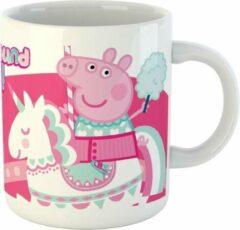 Nickelodeon Mok Peppa Pig Junior 325 Ml Keramiek Wit