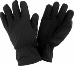 Senvi Softshell Thermische Winter Handschoenen - Zwart - Maat S/M - Unisex