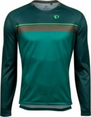 Pearl Izumi - Summit Long Sleeve Top - Fietsshirt maat M, turkoois/zwart