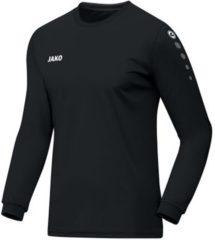 Jako Team Longsleeve T-shirt Heren Sportshirt - Maat S - Mannen - zwart