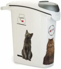 Curver Voedselcontainer Kat Wit 23 liter