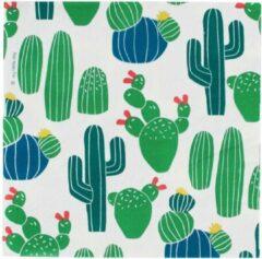 My Little Day Papieren Servetten - Wit met Cactussen