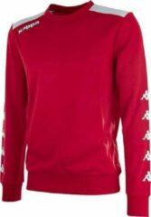 Kappa Saguedo Trainingssweater Heren - Rood / Wit | Maat: L