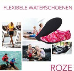 Sandesen Erg comfortabele en flexibele Waterschoenen voor Dames en Heren Outdoor Strand Zwemmen Aqua Sokken Sneldrogende Blootsvoets Schoenen Surfen Yoga Zwembad - Roze - maat XS 34-35