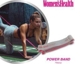 Grijze Women's Health Power Bands Heavy – weerstandsband – zwaar – fitnessaccessoires - Home Fitness