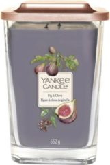 Paarse Yankee Candle - Elevation Large Vessel - Fig & Clove
