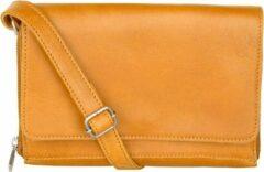 Gele Cowboysbag Glen Crossbody Bag amber Damestas