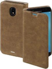 """""""Hama Booklet """"""""Guard Case"""""""" voor Samsung Galaxy J7 (2017), bruin"""""""