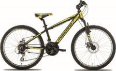 Montana Bike 24 Zoll Mountainbike Montana Spidy 21... schwarz-gelb