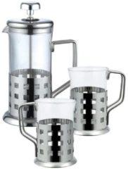 Roestvrijstalen Renberg Koffie-/ theeset (3 dlg)
