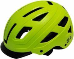 Qt Cycletech Fietshelm Urban Style Groen Maat 52-58 Cm