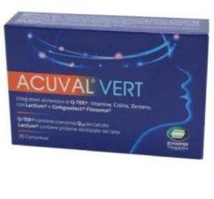 Scharper Acuval vert 20 compresse 12 g