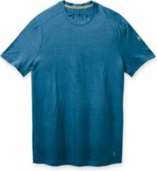 Smartwool Merino 150 Sportshirt Tech Blauw Heren