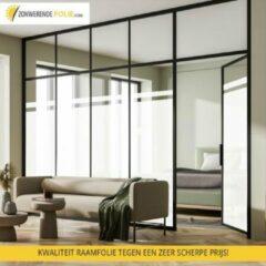 Merkloos / Sans marque Privacy raamfolie zelfklevend - 61 cm x 900 cm - direct 100% privacy - Geen inkijk meer mogelijk - nu met gratis aanbrengset