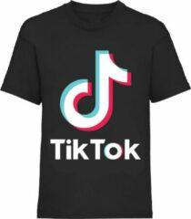 Tik Tok TikTok Shirt zwart