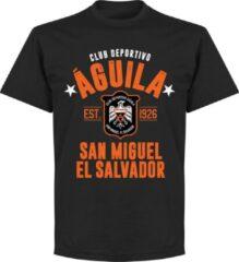 Retake club deportivo aguila established t shirt zwart