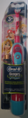 Oral-B Stages Power Kids tandenborstels (2 stuks) op batterijen met Disney Cars en Princess
