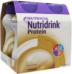 Nutridrink Proteine mokka 200 ml 4 Stuks