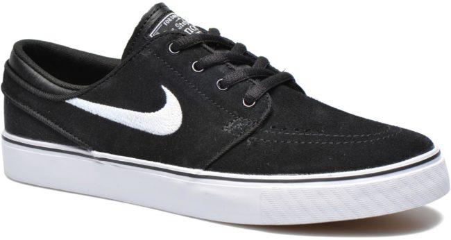 Afbeelding van Zwarte Nike Zoom Stefan Janoski Skateschoen voor kids - Zwart