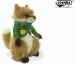 Hansa Creation Vos jongen met groen jasje, Hansa