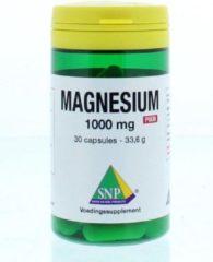 <lt/>li<gt/>minder vermoeidheid en futloosheid<lt/>/li<gt/> SNP Magnesium 1000 mg puur 30 capsules