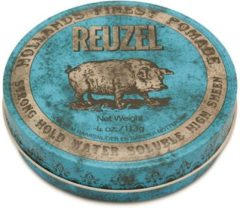 Reuzel Hf Pomade Strong Hold Water High Shn - Blue Karton @ 1 Stuk X 113 Gr