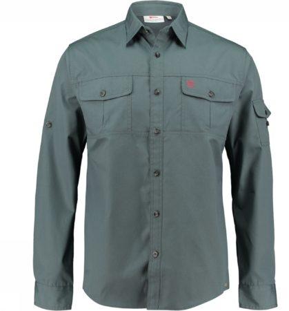 Afbeelding van Fjällräven Fjallraven Singi Trekking Shirt LS - heren - blouse lange mouwen - maat L - dusk