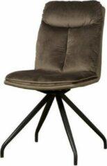 Teakea Rota sidechair | 69x48x90 | bruin