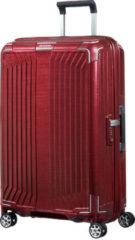 Rode Samsonite Lite-Box spinner 69 cm deep red