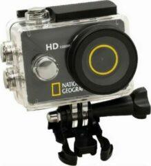 National Geographic Action-camera 8 Cm Rubber Zwart 14-delig