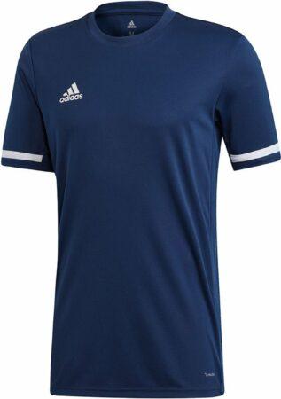 Afbeelding van Donkerblauwe Adidas Team 19 Shirt - Voetbalshirts - blauw donker - XL