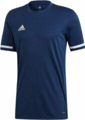 Blauwe T-shirt Korte Mouw adidas TEAM19 SS Jersey
