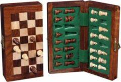 Engelhart Longfield Games Schaakset 9 x 17 cm - Magnetisch/Opklapbaar