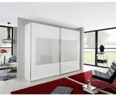 Inosign Schwebetürenschrank mit gemusterter Glasfront, in drei Breiten
