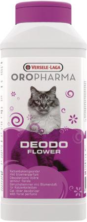 Afbeelding van Versele-Laga Oropharma Deodo Geurverdrijver - Kattenbakreinigingsmiddelen - 750 g Bloemengeur