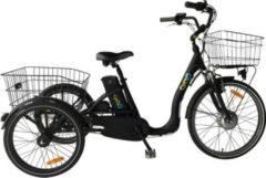 24 Zoll Elektro Dreirad 3 Gang Cyclo2... schwarz