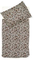 Naturelkleurige Jollein Overtrek ledikant 100x140cm Leopard natural