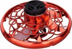 Rode Merkloos CE Hand gestuurde spinner drone met LED   Mini drone   Ufo spinner met LED   Vliegende fidget toy   Boomerang fly spinner   Fidgets   kinder speelgoed   Binnenspeelgoed   buitenspeelgoed   indoor& outdoor  