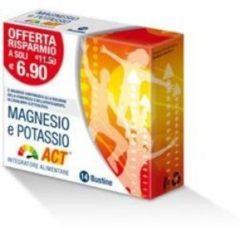 F&F Magnesio e potassio ACT riduzione della stanchezza 14 bustine