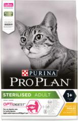 Pro Plan Cat Sterilised Kip - Kattenvoer - 3 kg