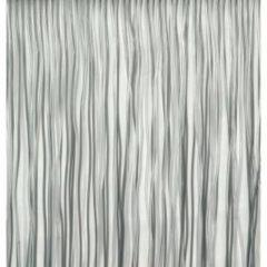 Vliegengordijn/deurgordijn PVC spaghetti grijs - 90 x 220 cm - Insectenwerende vliegengordijnen
