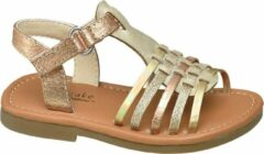 Gele Cupcake Couture Kinderen Gouden sandaal klittenbandsluiting - Maat 21