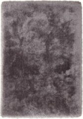 Zilveren Cosy Shaggy Superzacht Vloerkleed Antraciet Hoogpolig - 120x170 CM